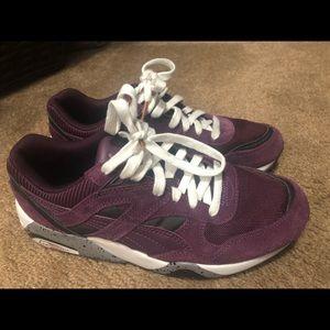 Puma Trinomic R698 shoes, purple